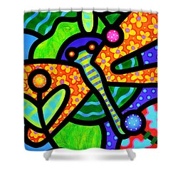 Watergarden Shower Curtain