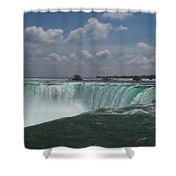 Shower Curtain featuring the photograph Water's Edge by Barbara McDevitt