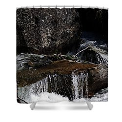 Water's Flow Shower Curtain