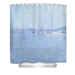 Waterway Of Beautiful France Shower Curtain
