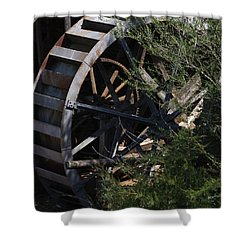 Waterwheel Shower Curtain