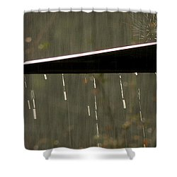 Shower Curtain featuring the photograph Waterworks by Charlotte Schafer