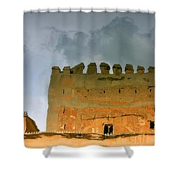 Watery Alhambra Shower Curtain
