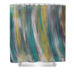 Watery Shower Curtain