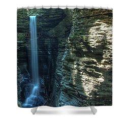 Watkins Glen Shower Curtain