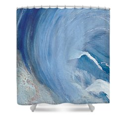 Wave Break Shower Curtain