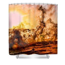 Wave Crasher La Jolla By Diana Sainz Shower Curtain