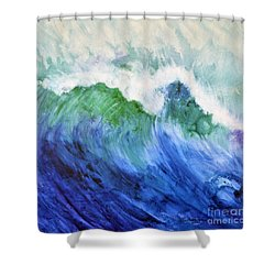 Wave Dream Shower Curtain