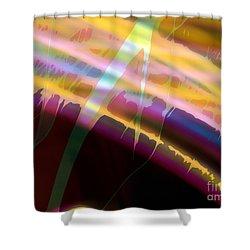 Wave Light Shower Curtain