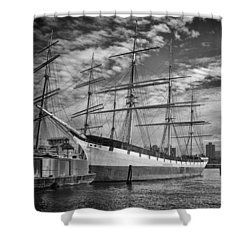 Wavertree In Monochrome Shower Curtain