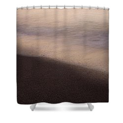Waves Shower Curtain by Bradley R Youngberg