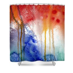 Waves Of Emotion Shower Curtain