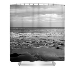 Waves Rolling In  Shower Curtain