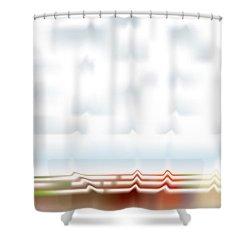 Wavescape Shower Curtain
