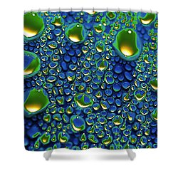 Wax Holds Up Shower Curtain by Joe Schofield