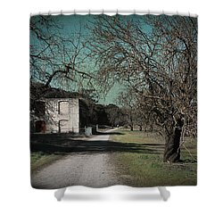 Way Back When Shower Curtain by Laurie Search