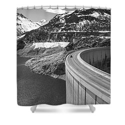 Way Up High. Shower Curtain by Clare Bambers