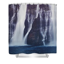 We All Fall Down Sometimes Shower Curtain by Laurie Search