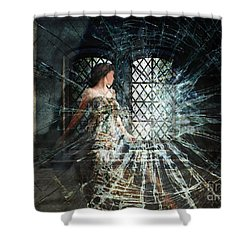 We Are Glass Shower Curtain