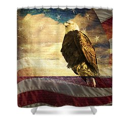 We The People Shower Curtain by Eleanor Abramson