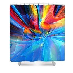 Weather Or Knot H 1 Shower Curtain