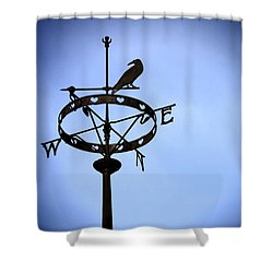 Weather Vane Shower Curtain by Craig B