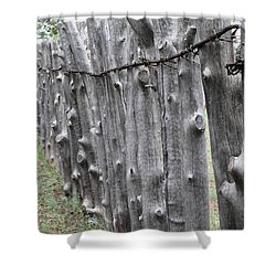 Shower Curtain featuring the photograph Weathered by Natalie Ortiz