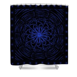 Web String Shower Curtain