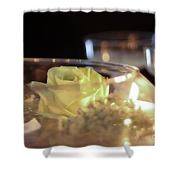 Wedding Bliss Shower Curtain by Terry Weaver