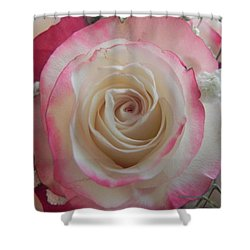 Shower Curtain featuring the photograph Wedding Bouquet by Deb Halloran
