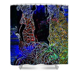 Wedding In Cana Shower Curtain by Gloria Ssali