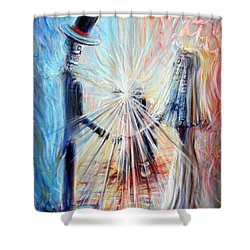 Wedding Photographer Shower Curtain