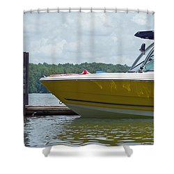 Shower Curtain featuring the photograph Weekend Fun by Charles Beeler