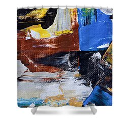 Shower Curtain featuring the painting Weekend Retreat by Heidi Smith