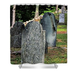 Weeks Cemetery Shower Curtain