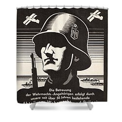 Wehrmacht Shower Curtain