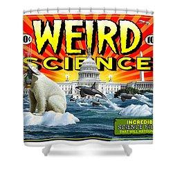 Weird Science Shower Curtain