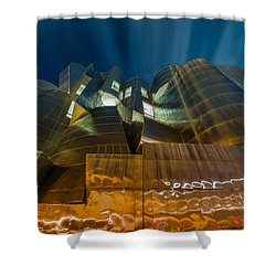 Weisman Art Museum Shower Curtain by Mark Goodman