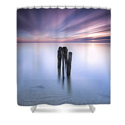 Welcome 2014 Shower Curtain by Edward Kreis