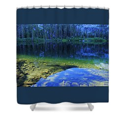 Shower Curtain featuring the photograph Welcome To Eagle Lake by Sean Sarsfield