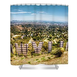 Welcome To Hollywood Shower Curtain