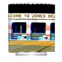 Welcome To Jones Beach Shower Curtain