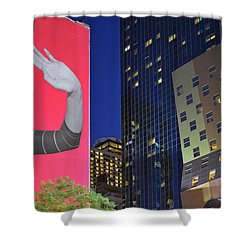Welcome To New York Shower Curtain by Jeffrey Friedkin