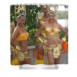 Welcome To The Islands Shower Curtain