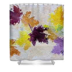 Welcoming Autumn Shower Curtain by Heidi Smith