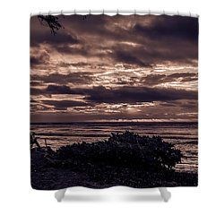 Welcoming The Sun Shower Curtain