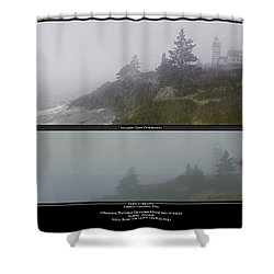 Shower Curtain featuring the photograph We'll Keep The Light On For You by Marty Saccone