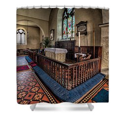 Welsh Chapel Shower Curtain by Adrian Evans