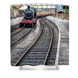 Welsh Railway Shower Curtain