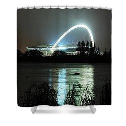 Wembley London Shower Curtain